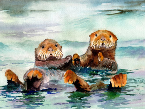 Sea Otters Ketchikan Alaska