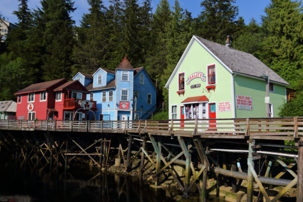 Cruise Alaska and see the famous Creek Street